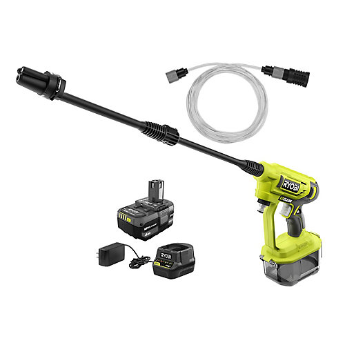 18V ONE+ 320 PSI 0.8 GPM Cold Water Cordless Power Cleaner with 4.0 Ah Battery