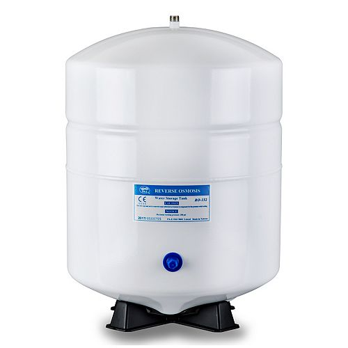 T55M 5.5 Gallon Residential Pre-Pressurized Water Storage Tank for Reverse Osmosis Systems