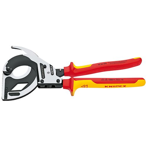Heavy Duty Forged Steel Cable Cutter with 1000-Volt Insulation