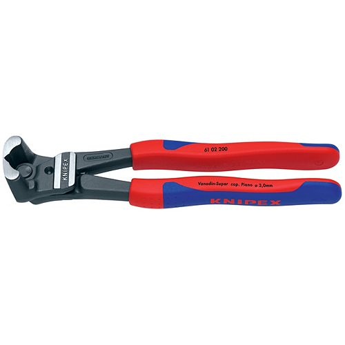 8 inch High Leverage End Cutters with Comfort Grip