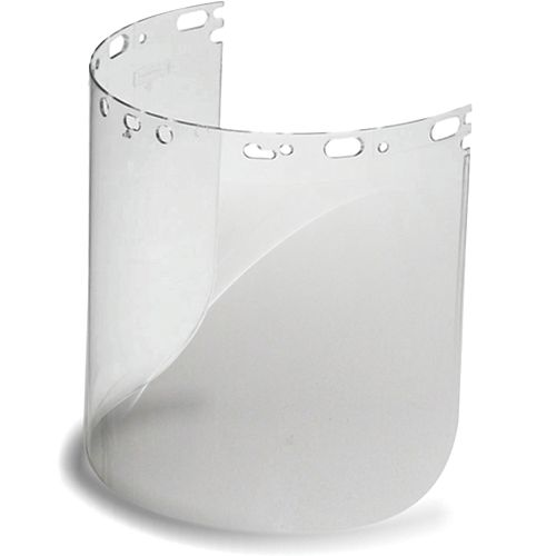 Clear Polycarbonate Visors - 2 Pack