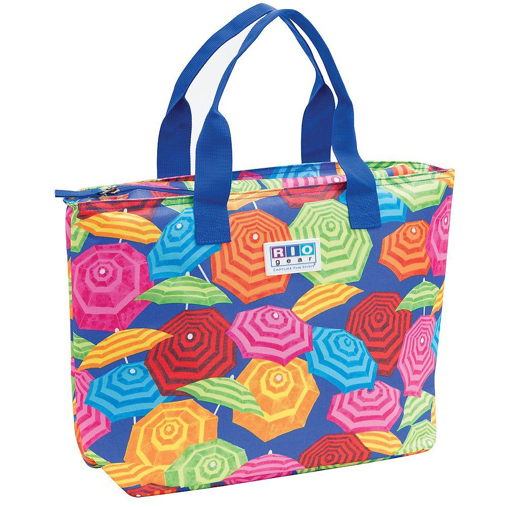 RIO Brands Gear Insulated Tote Bag - Umbrella Print