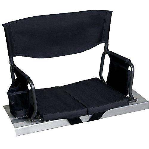Gear Bleacher Boss Compact Stadium Seat - Black