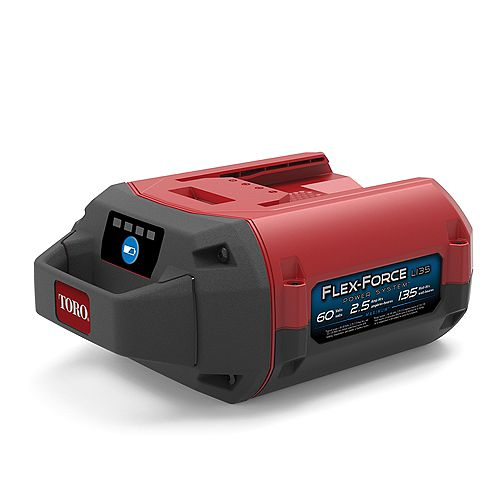 60V Max 2.5 Ah Lithium-Ion L135 Battery, Flex-Force Power System