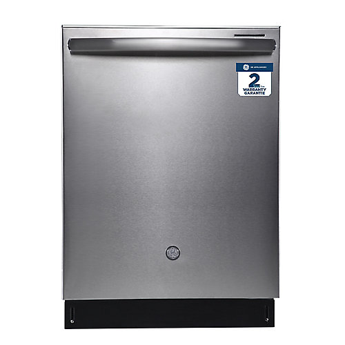 24-inch Built-in Dishwasher with Stainless Steel Interior in Stainless steel, ENERGY STAR