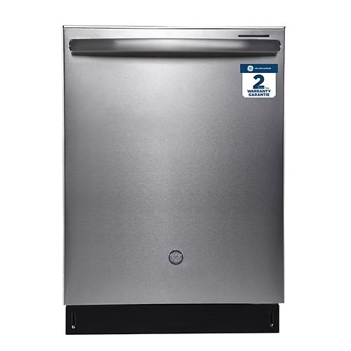 24-inch W Built-in Dishwasher with Stainless Steel Interior in Stainless Steel - ENERGY STAR