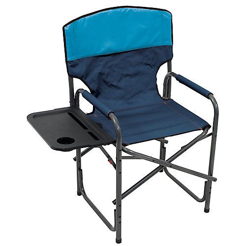 Gear Broadback Compact Fold Directors Chair - Blue Sky/Navy