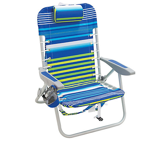 Gear 4-Position Lace-Up Backpack Chair - Stripe