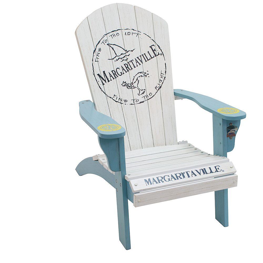 Margaritaville Margaritaville Wood Adirondack Chair - Fins to the Left