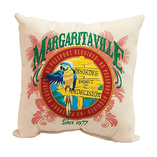 Coussins 2 côtés Margaritaville, Port d'indécision