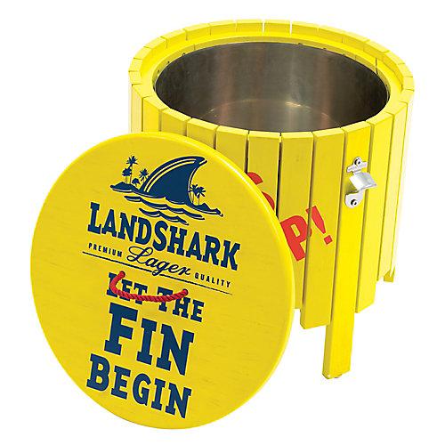 Landshark Beverage Cooler - Fins Up