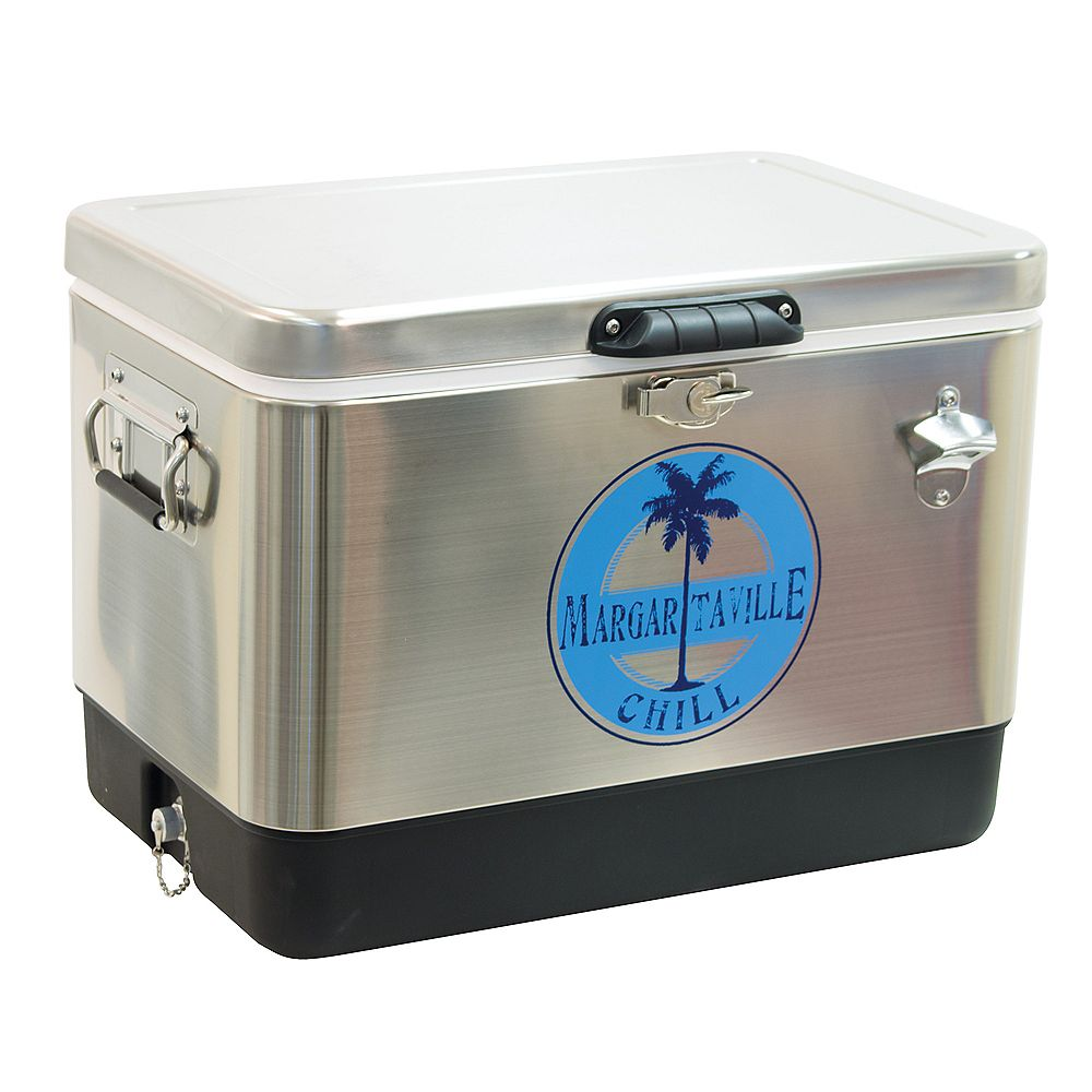 Margaritaville Margaritaville 54 Qt. Stainless Steel Cooler - Margaritaville Chill