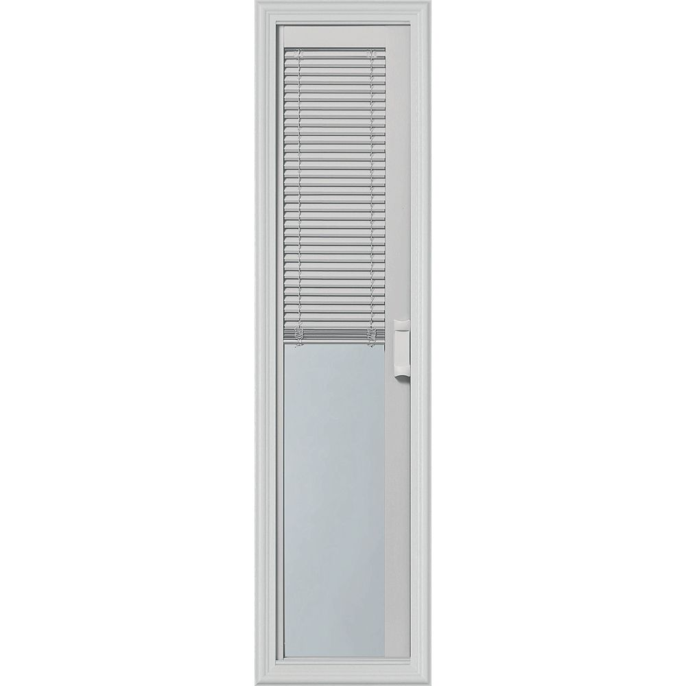 ODL Light-Touch Enclosed Blinds 08x36 Sidelight Caming With Evolveframe