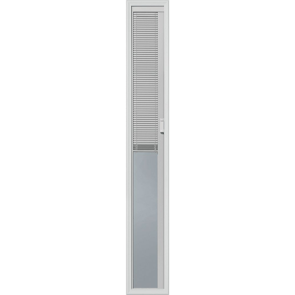 ODL Light-Touch Enclosed Blinds 07x64 Sidelight Caming With Evolve Frame