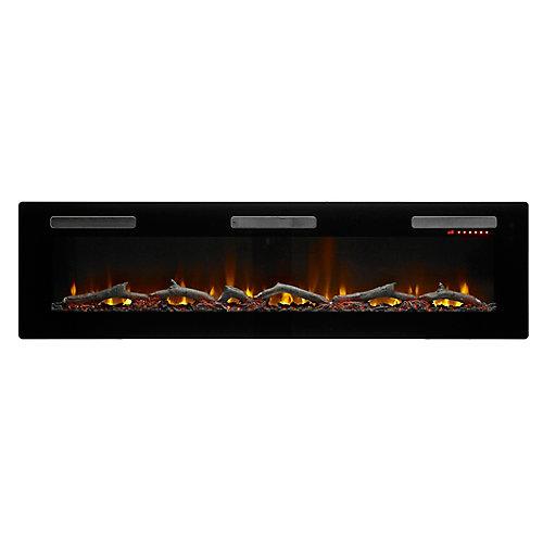 """Sierra 72"""" Wall/Built-In Linear Fireplace by C3"""