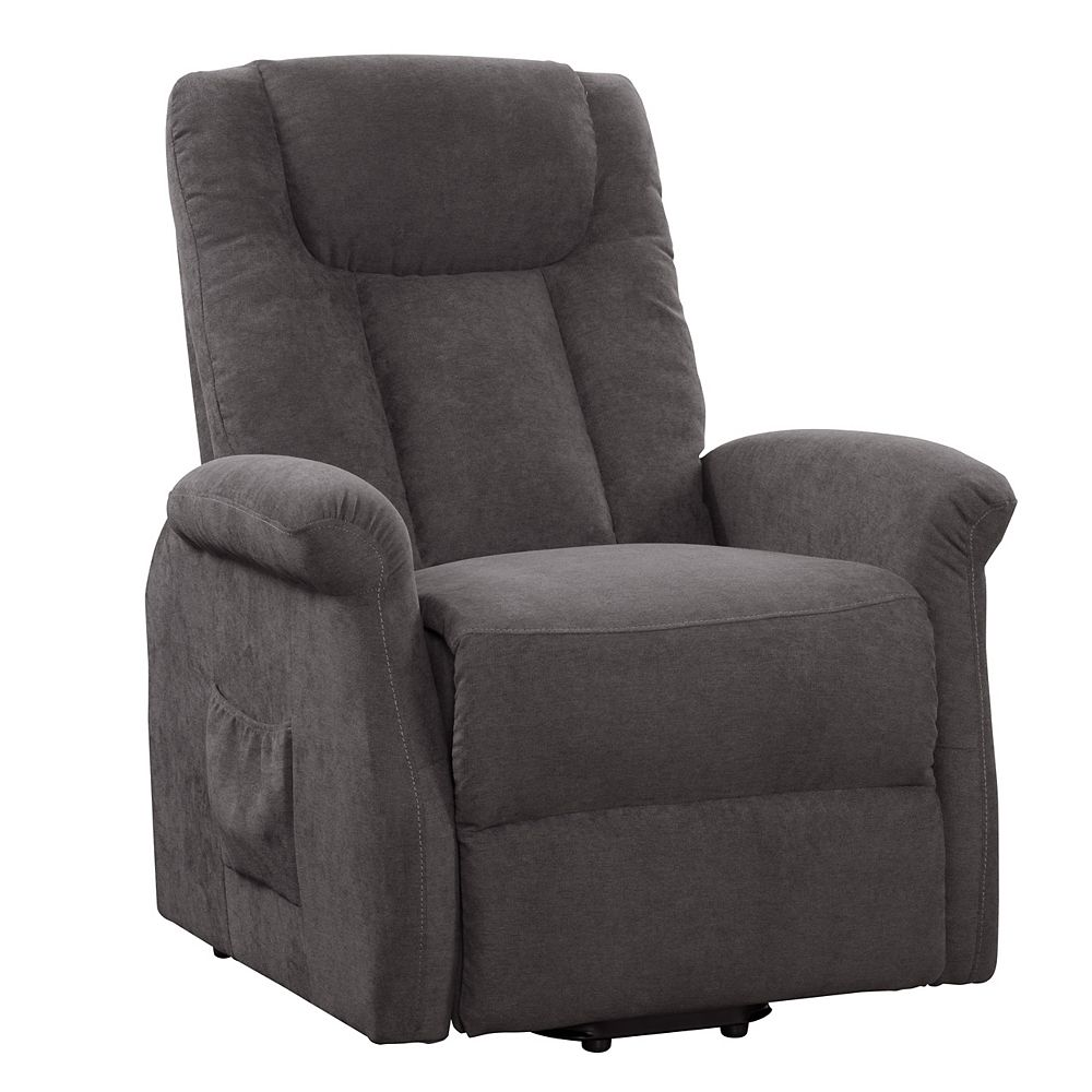 Corliving Power Lift and Rise Recliner, Grey