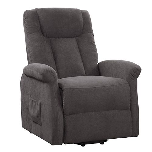 Power Lift and Rise Recliner, Grey