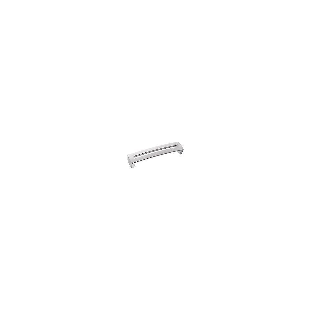 Richelieu Poignée contemporaine en métal 6 5/16 po (160 mm) Chrome mat