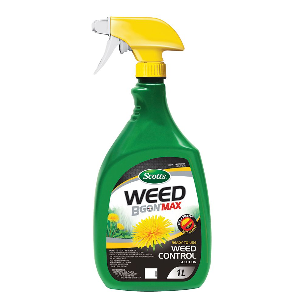 Scott 1L Weed BGon MAX Ready-to-Use Weed Control