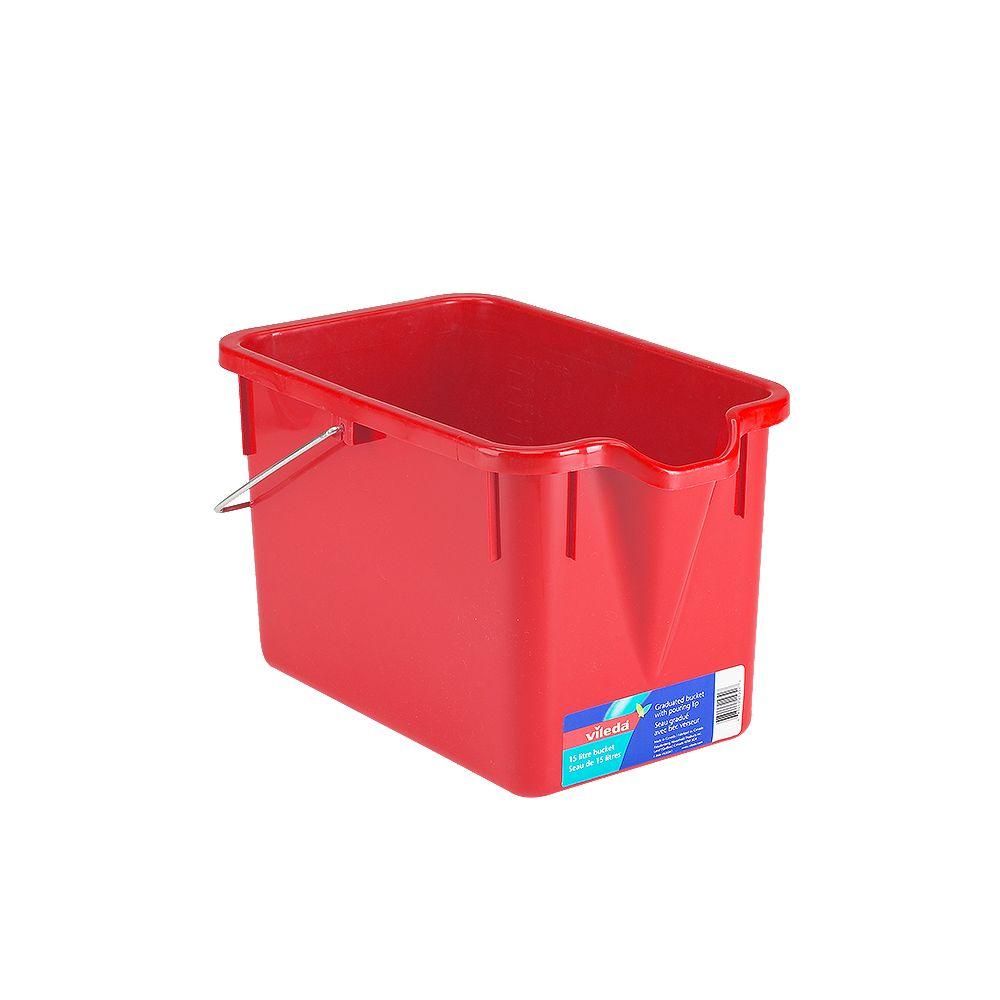 Vileda 15L Rectangular Bucket
