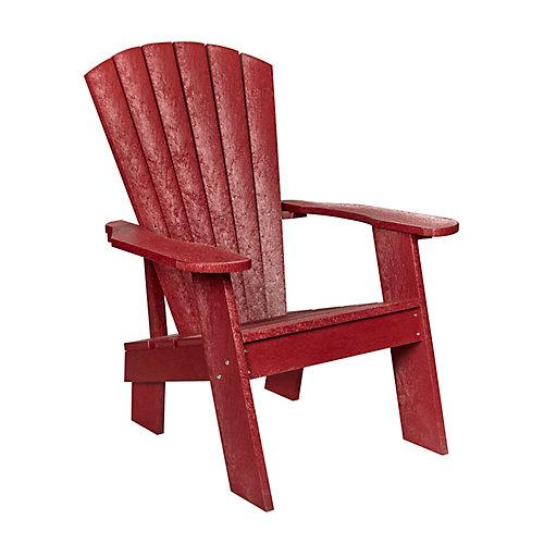 Adirondack Chair Red Rock
