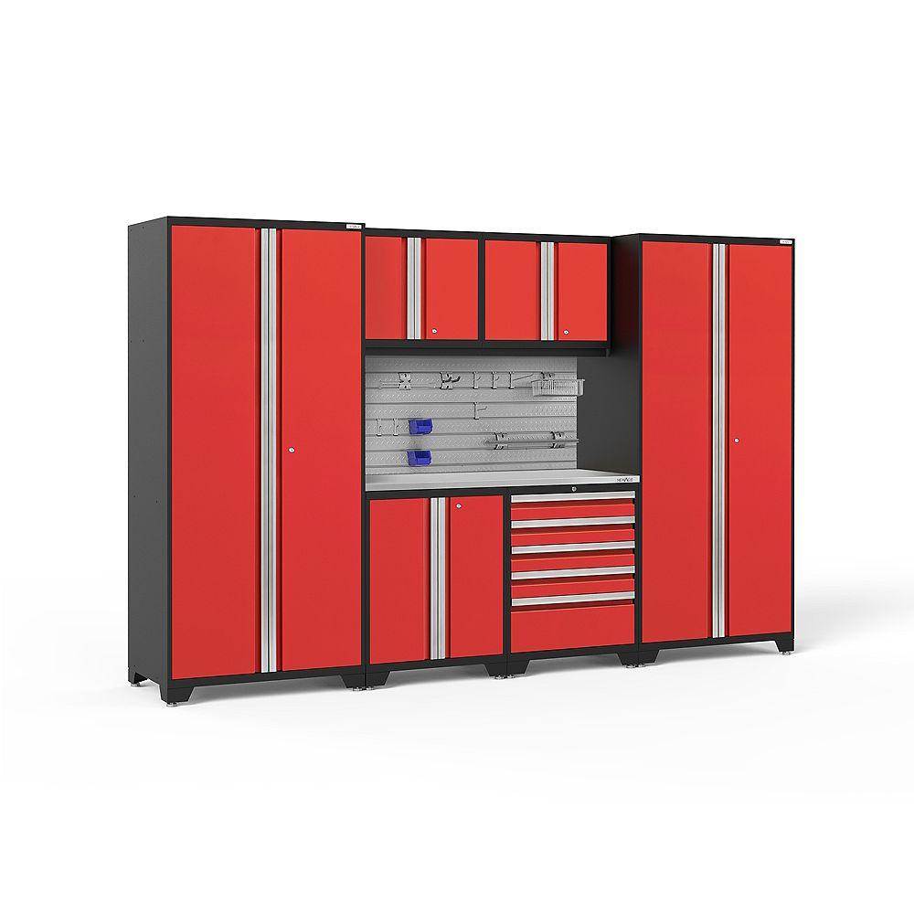 NewAge Products Inc. Série Pro 3.0 Rouge - Ensemble de 7 pièces