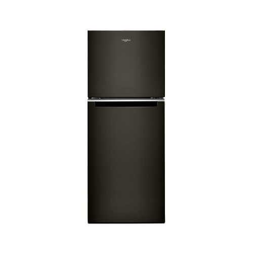 Whirlpool 24-inch W 11.6 cu. ft. Top Freezer Refrigerator in Black Stainless Steel - ENERGY STAR®