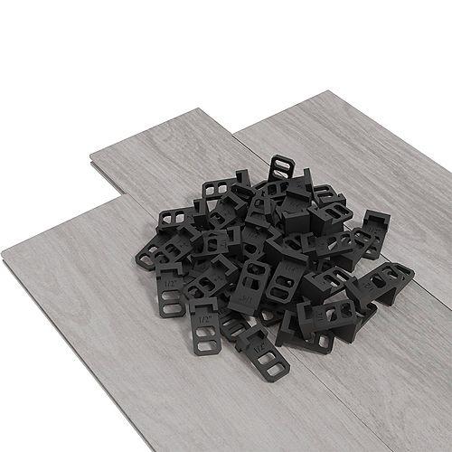 Cales d'espacement pour plancher en bois et stratifié (Sachet de 30)