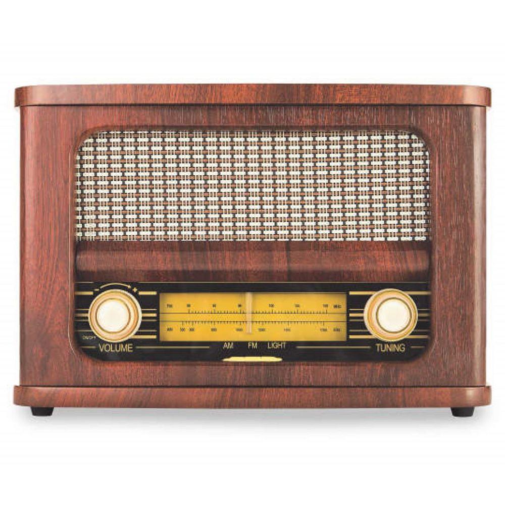 Art+Sound Retro Wireless FM Radio and Bluetooth Speaker