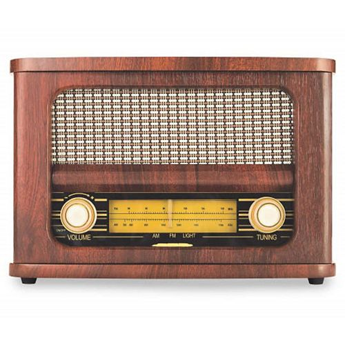 Retro Wireless FM Radio and Bluetooth Speaker