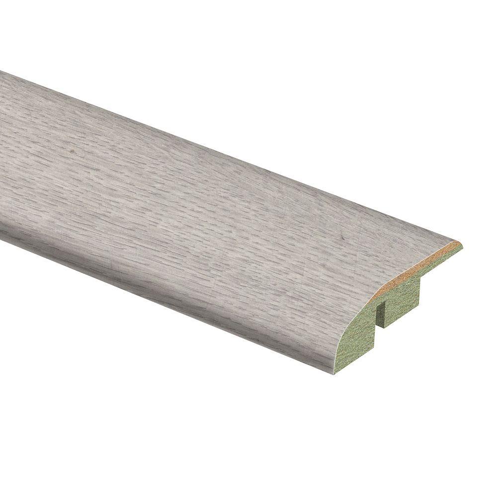 Zamma Silvered Oak, 0.45 x 1.75 x 72-inch, Laminate Reducer Moulding