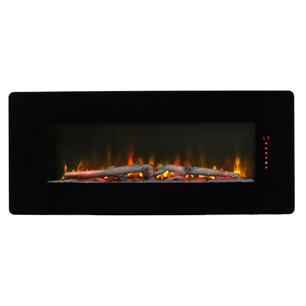 Dimplex Winslow 42-inch Wall-Mount/Tabletop Linear Electric Fireplace in Black