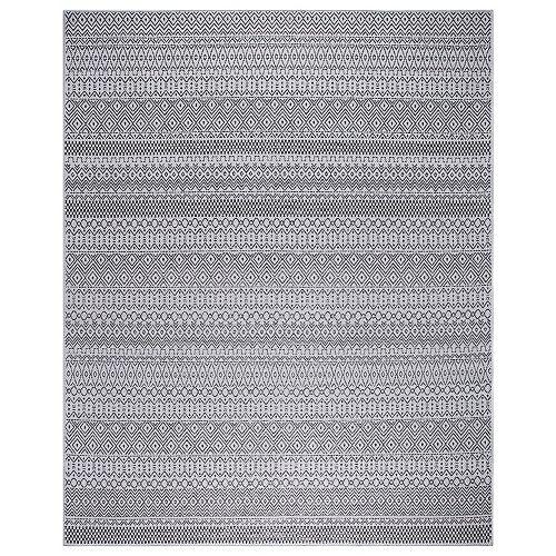 Rhapsody Grey 5 ft. 3-inch x 7 ft. 3-inch Outdoor Area Rug