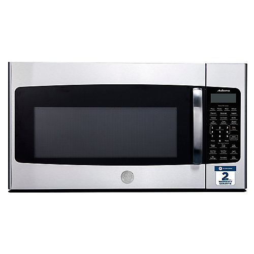 1.8 Cu. Ft. Over-The-Range Microwave Oven in Stainless Steel