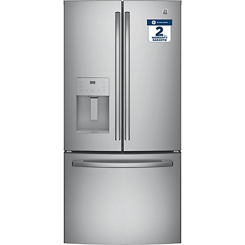 23.8 Cu. Ft. French-Door Refrigerator in Stainless Steel