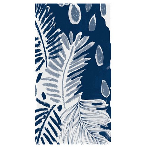 Sketchbook Palm 34-inch x 64-inch Digital Printed Beach Towel