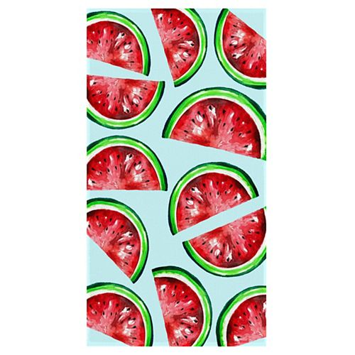 Watermelon 34-inch x 64-inch Digital Printed Beach Towel
