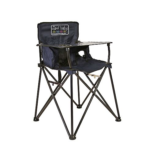Ciao Baby Ciao Baby High Chair Black