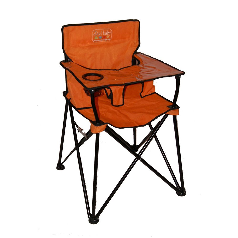 Ciao Baby Ciao Baby High Chair Orange