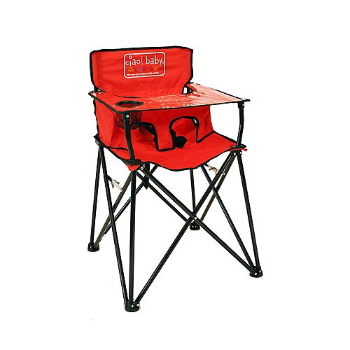 Ciao Baby High Chair Red