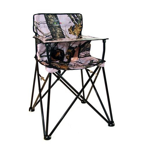 Ciao Baby High Chair Pink Mossy Oak
