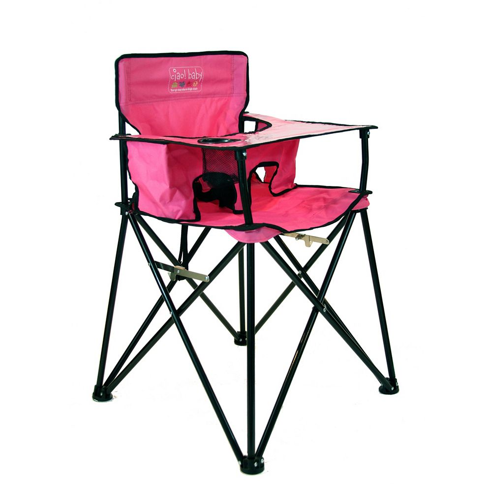 Ciao Baby Ciao Baby High Chair Pink