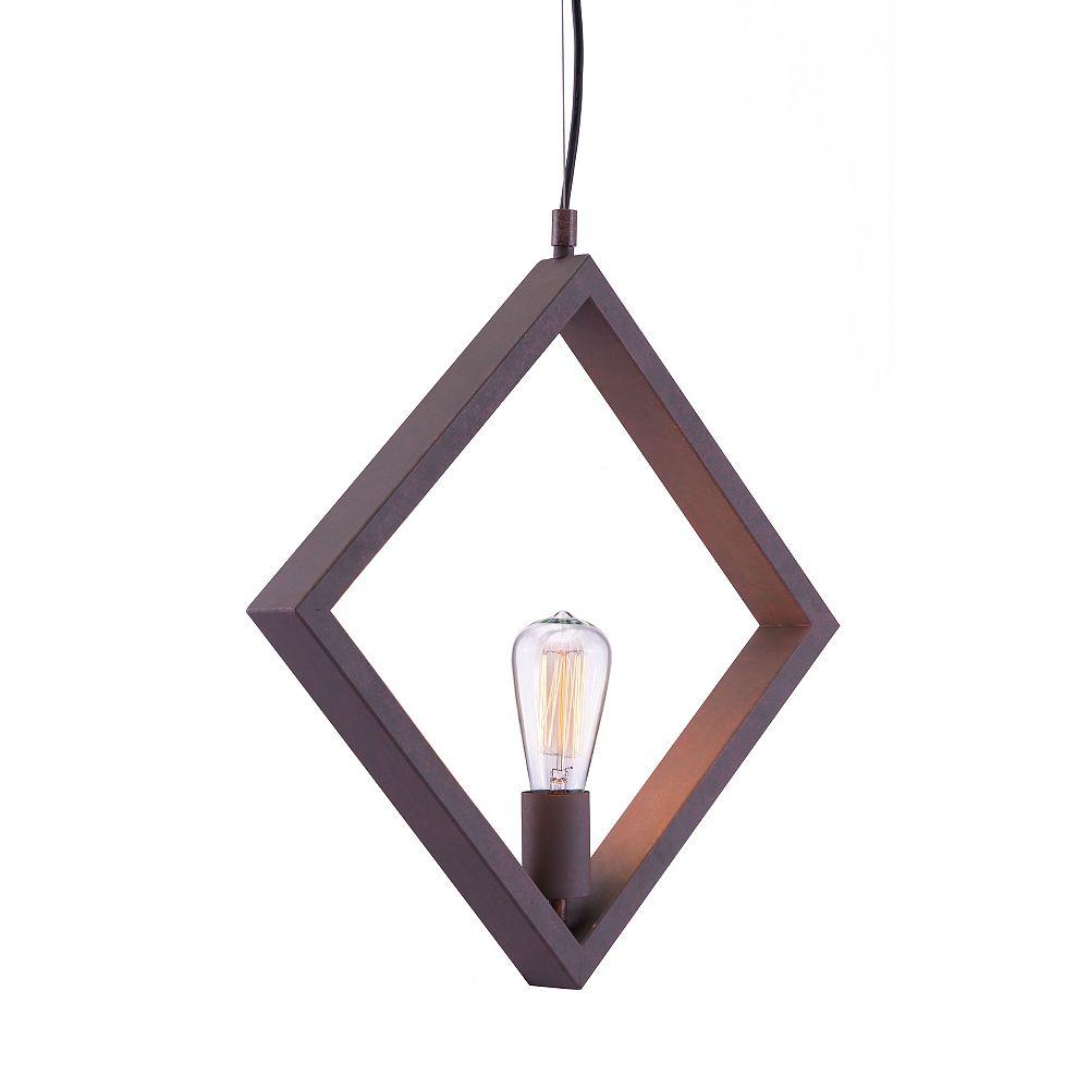 Zuo Modern Rotorura Ceiling Lamp Rust
