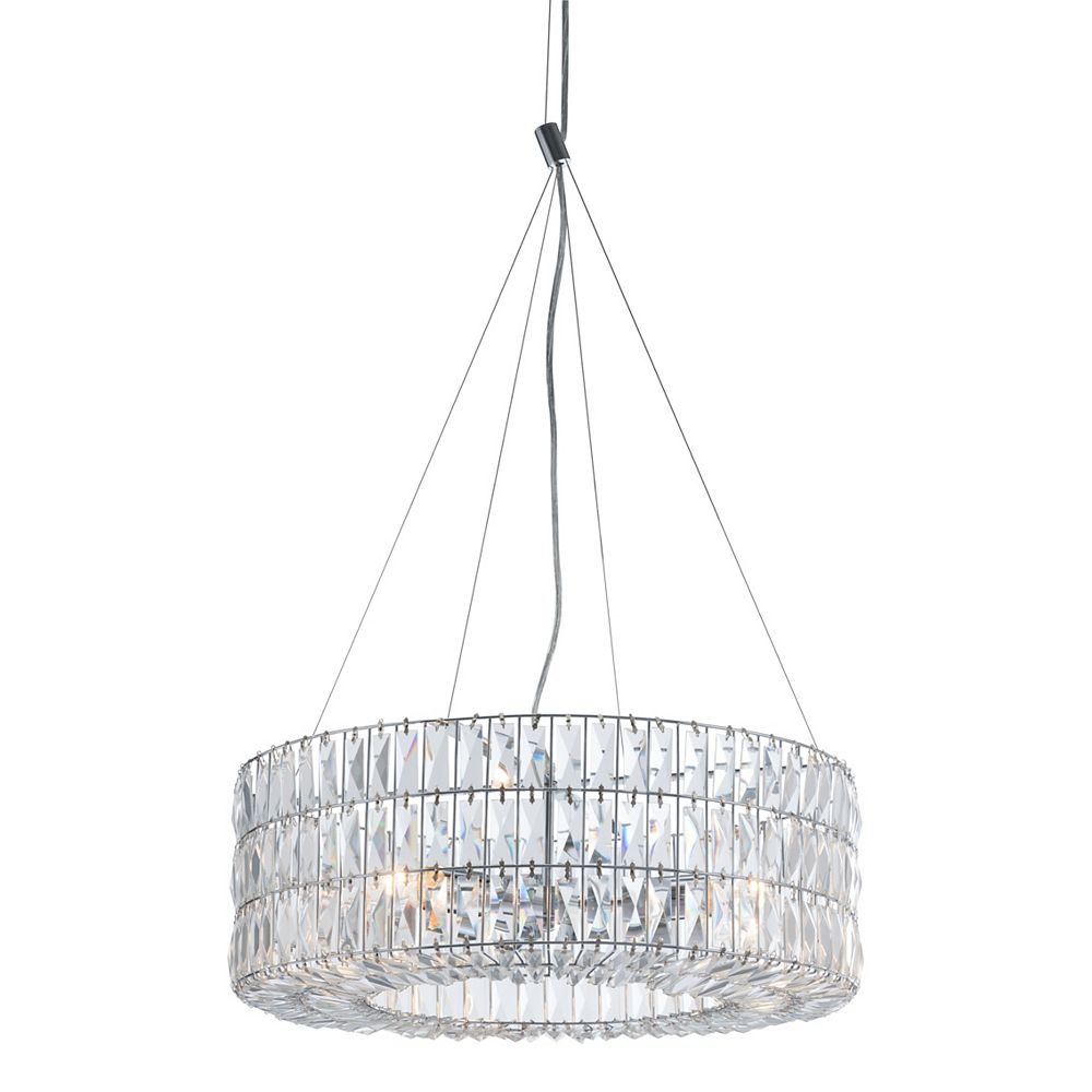 Zuo Modern Jena Ceiling Lamp Chrome