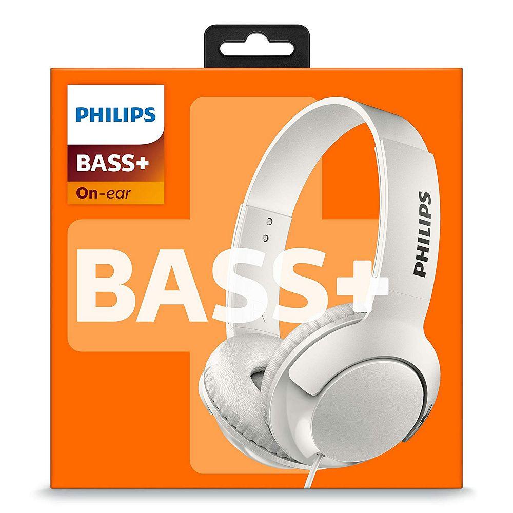 Philips Casque d'écoute filaire BASS + de