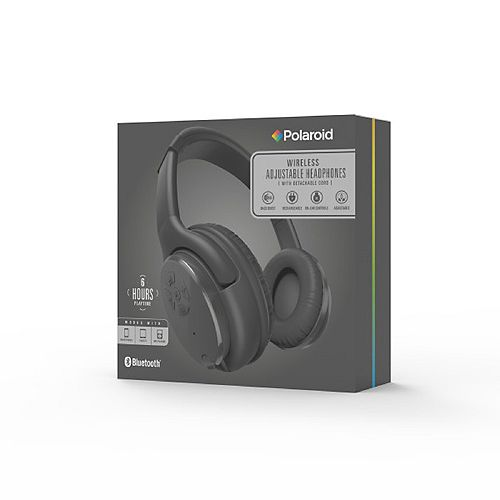 Wireless Adjustable Headphones, Black