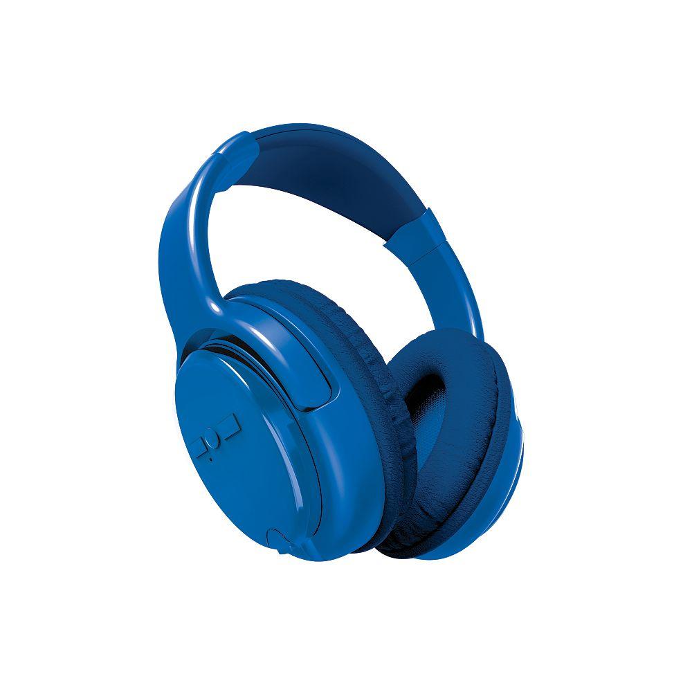 Polaroid Wireless Adjustable Headphones, Blue