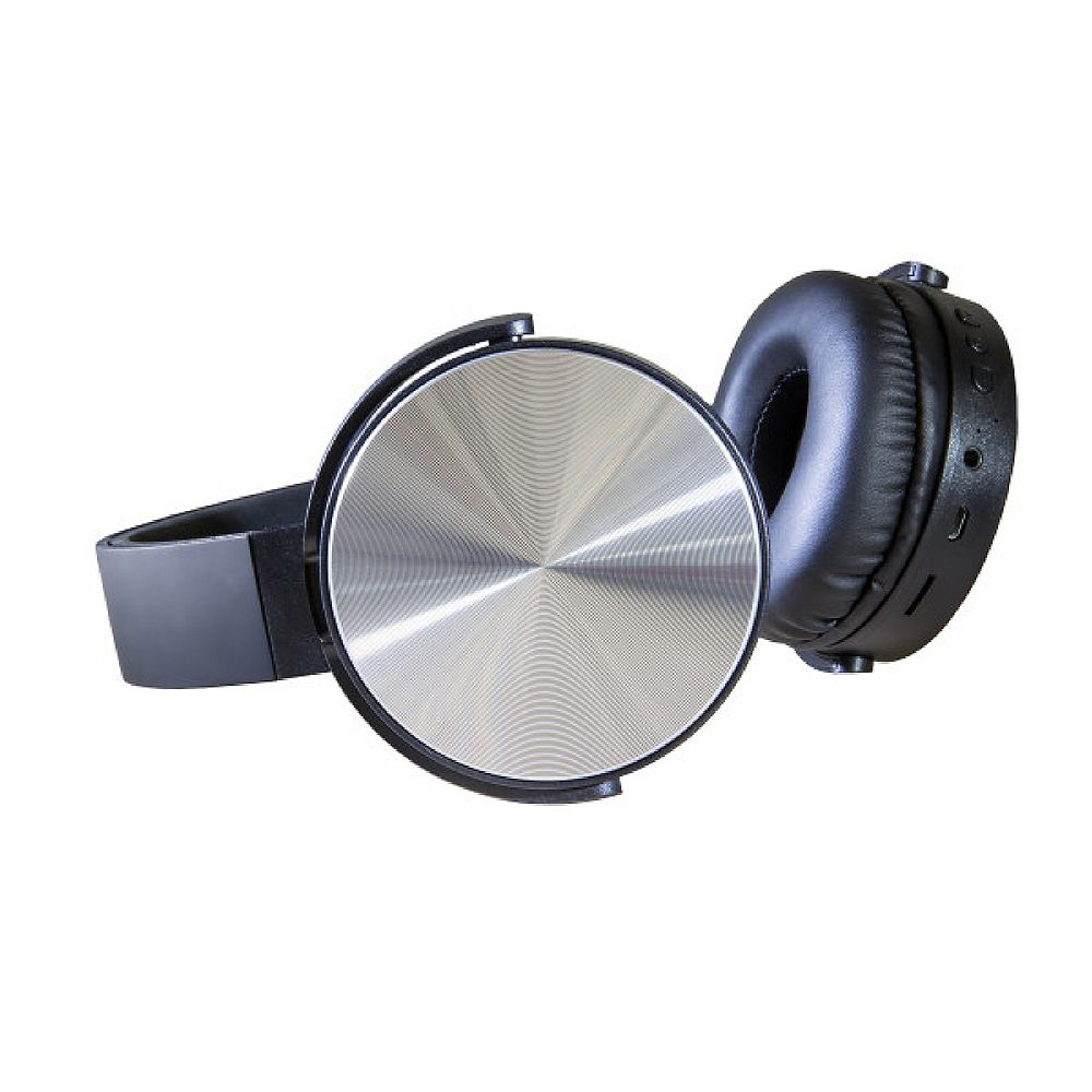 Polaroid Casque d'écoute sans fil supra-auriculaire, Noir