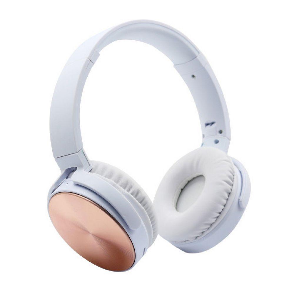 Polaroid On-Ear Wireless Headphones, Rose Gold
