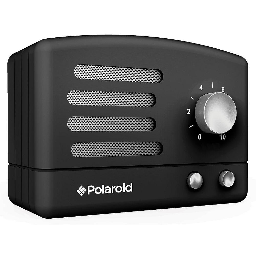 Polaroid Retro Bluetooth Speaker - Black